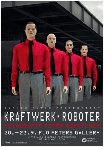 "Peter Boettcher, Kraftwerk ""Roboter"""