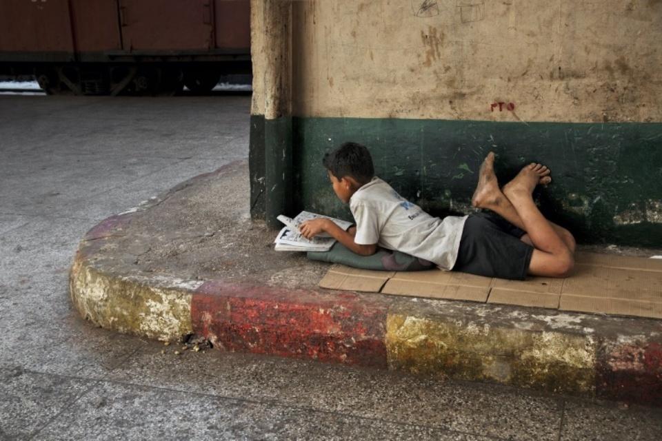 Steve McCurry: Rangun, Burma