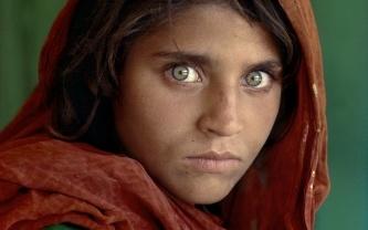 Steve McCurry: Afghan Girl Peshawar, Pakistan, 1984 Modern c-print