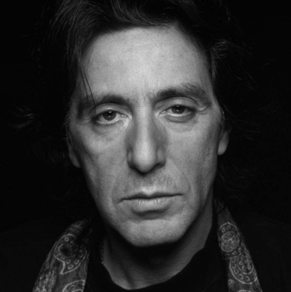 Terry O'Neill: Al Pacino London, 1995 Gelatin Silver Print Signed on verso & on recto Numbered on verso 50,3 x 40,6 cm Ed. 4/50