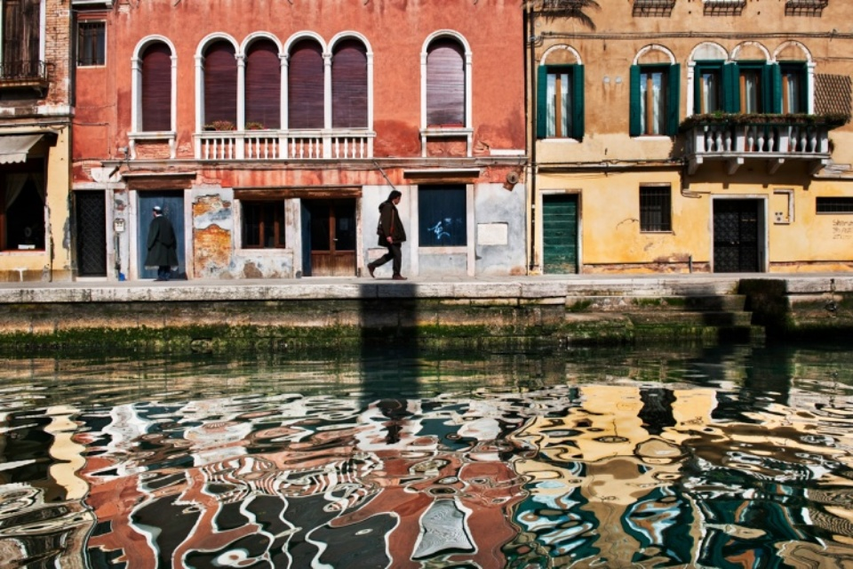 Steve McCurry: Venice Italy, 2011 C-print on Fuji Crystal paper Signed, titled, dated and numbered 50 x 60 cm Editioned