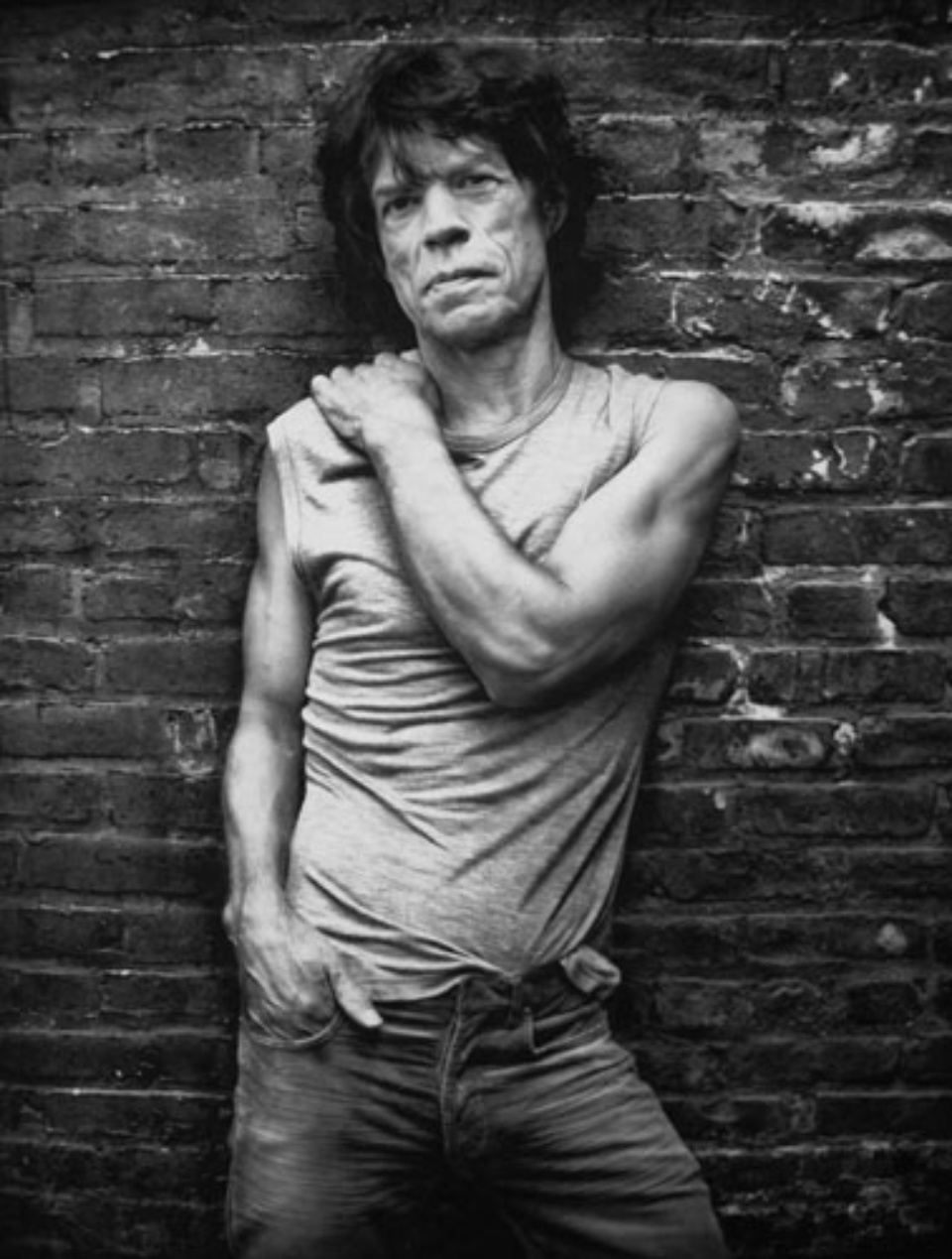 Mark Seliger: Mick Jagger New York, 2005 Platinum print Signed, titled, dated and numbered Ed. 15
