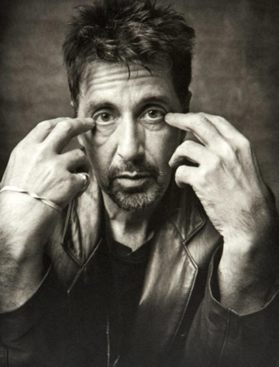 Mark Seliger: Al Pacino New York City, 1999 Gelatin Silver Print