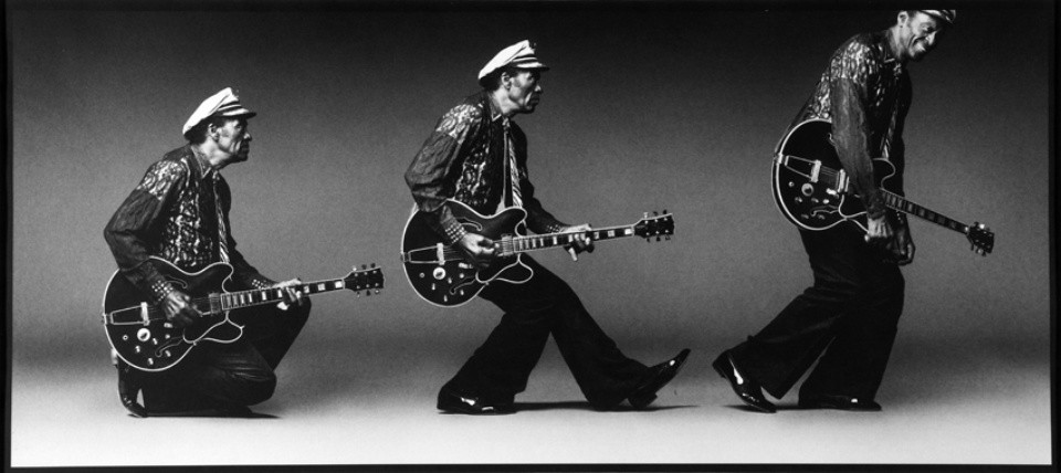 Mark Seliger: Chuck Berry St. Louis, 2001 Platinum palladium print Signed, titled and numbered on verso 50 x 60 cm Ed. 15