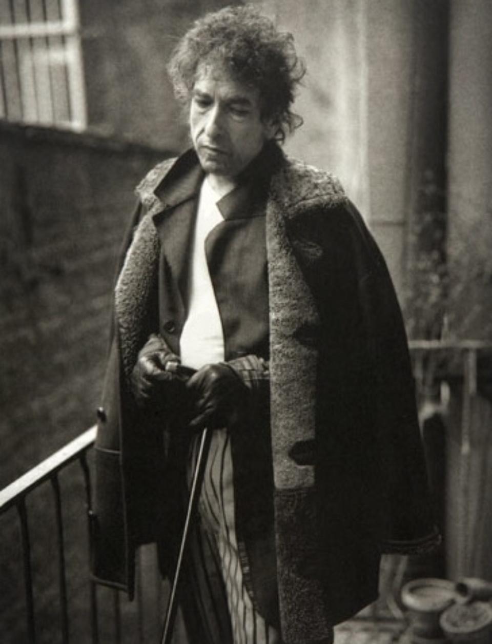 Mark Seliger: Bob Dylan New York, 1995 Platinum Print