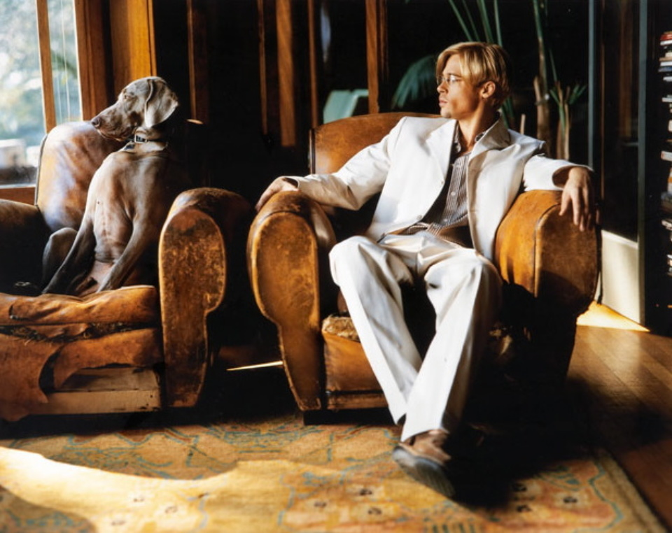Mark Seliger: Brad Pitt Los Angeles, 1997 C-Print