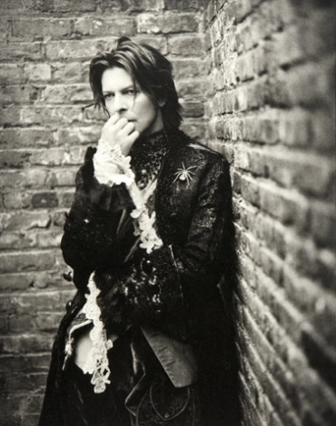 Mark Seliger: David Bowie NYC, 1999 Platinum Print Signed, titled, dated