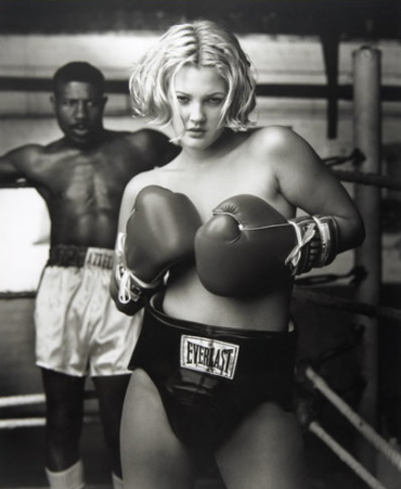 Mark Seliger: Drew Barrymore Bell CA, 1993 Gelatin Silver Print