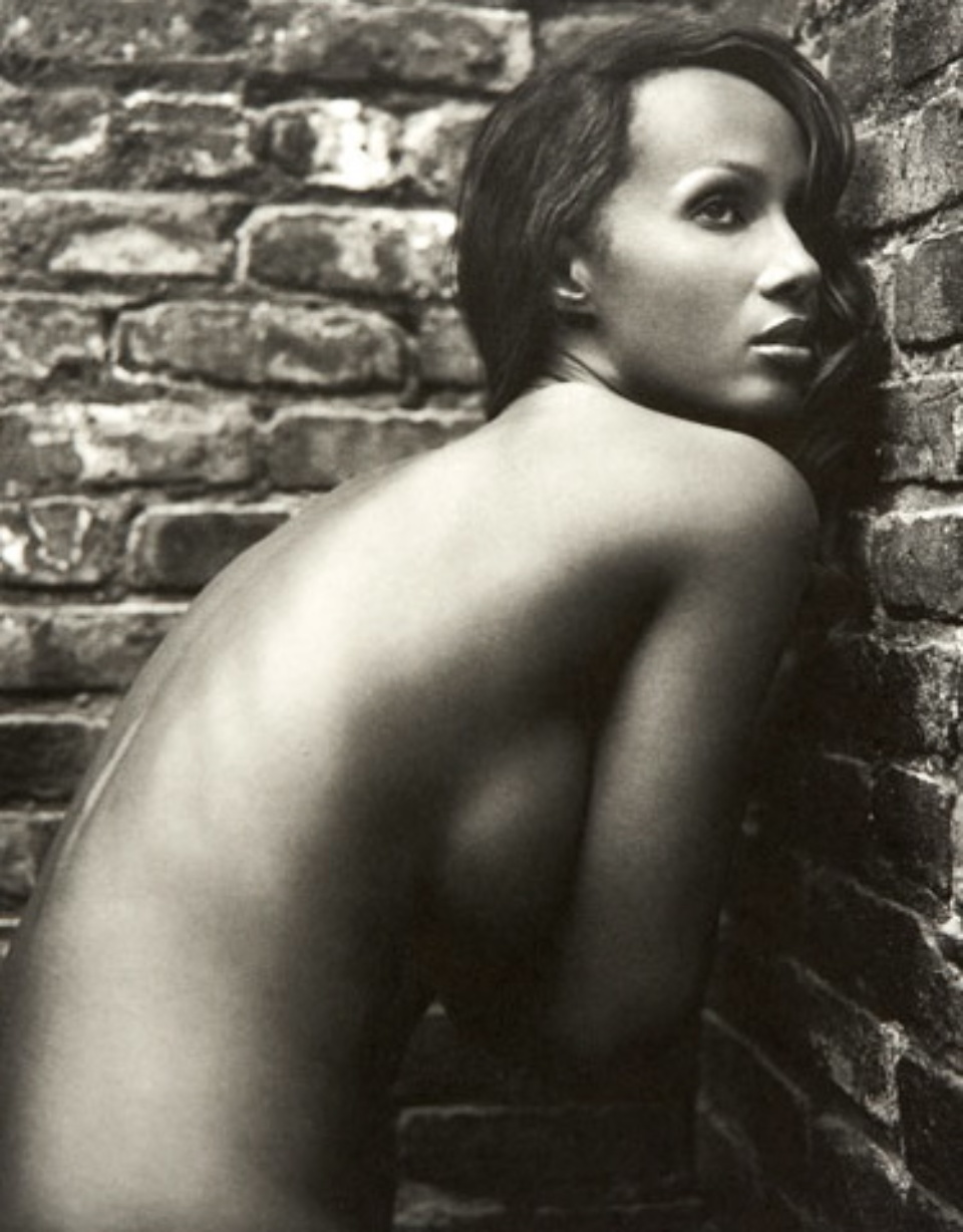 Mark Seliger: Iman NYC, 2001 Platinum Print Signed, titled, dated