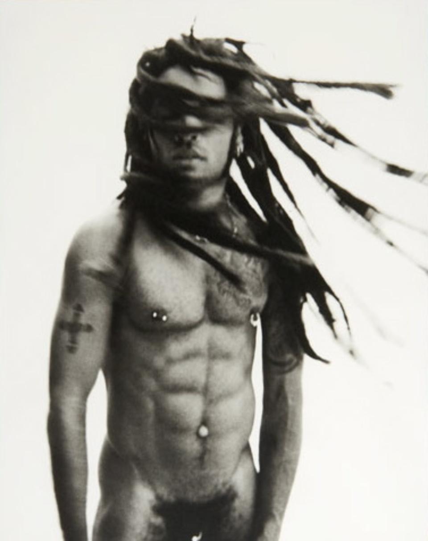 Mark Seliger: Lenny Kravitz Bahamas, 1998 Platinum Print