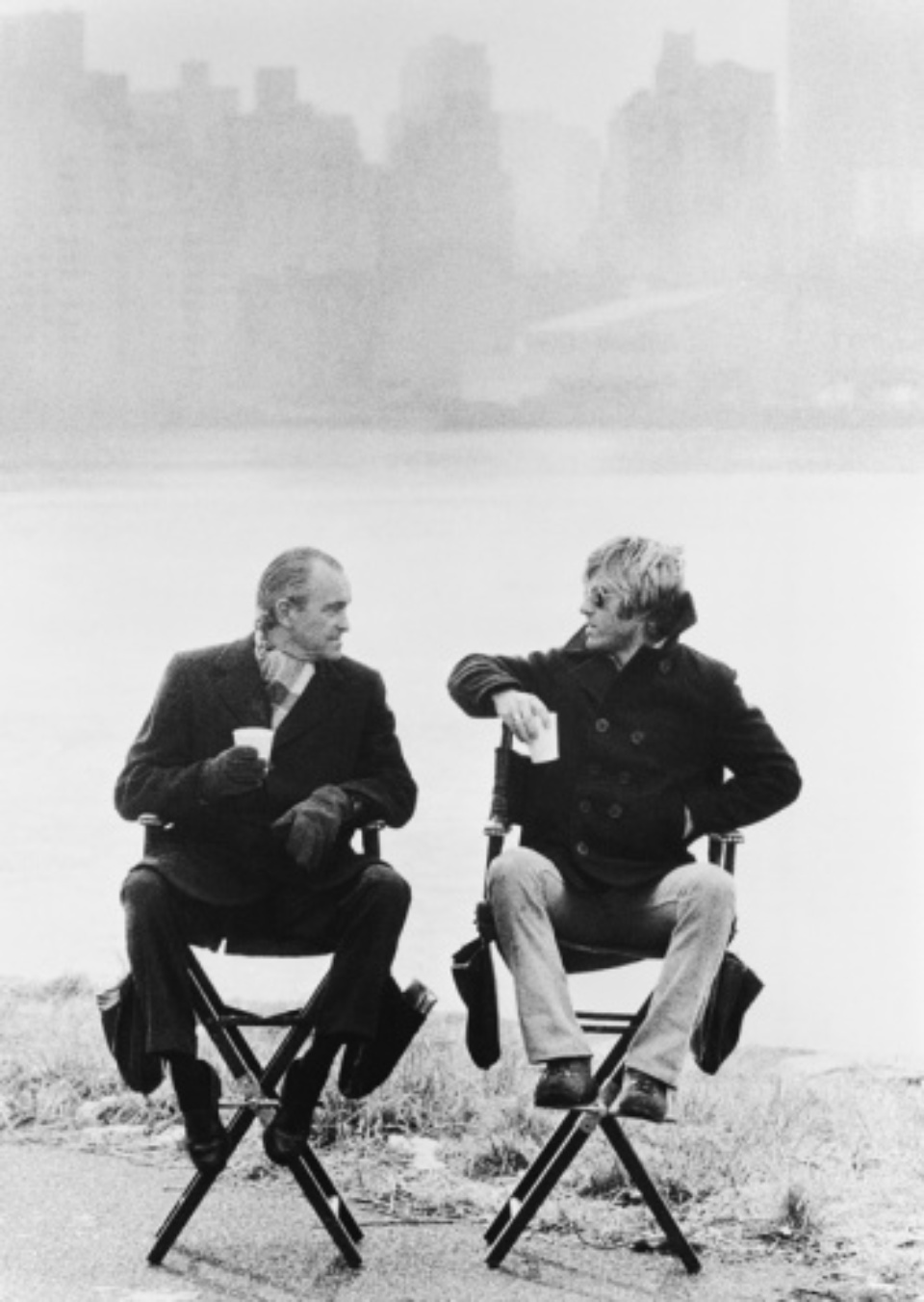 Terry O'Neill: Robert Redford and Richard Helms CIA Chief New York, 1975 Gelatin silver print, printed later Signed on recto Signed and numbered on verso 50 x 40 cm Editioned