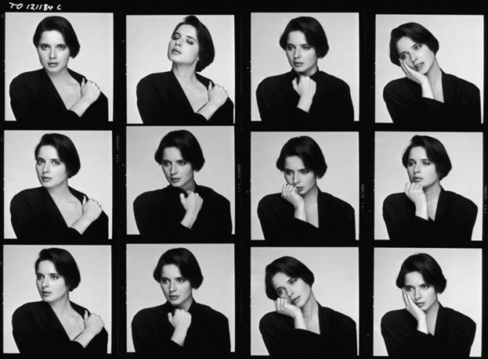 Terry O'Neill: Isabella Rossellini London, 1984 Gelatin silver print, printed later Signed on recto Signed and numbered on verso 50 x 60 cm Editioned