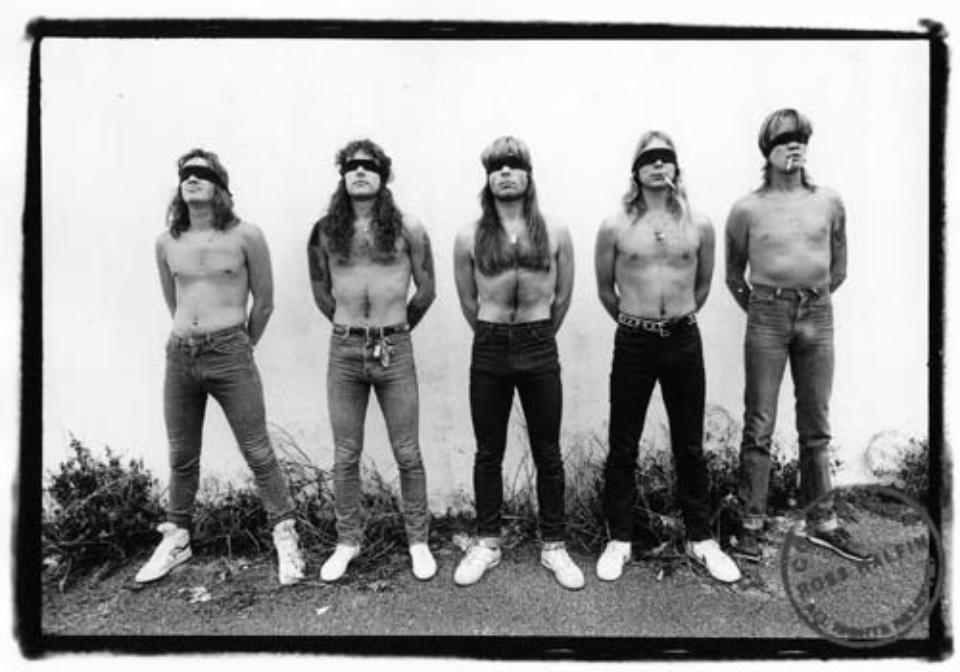 Ross Halfin: Iron Maiden - 2 Minutes to Midnight 1984