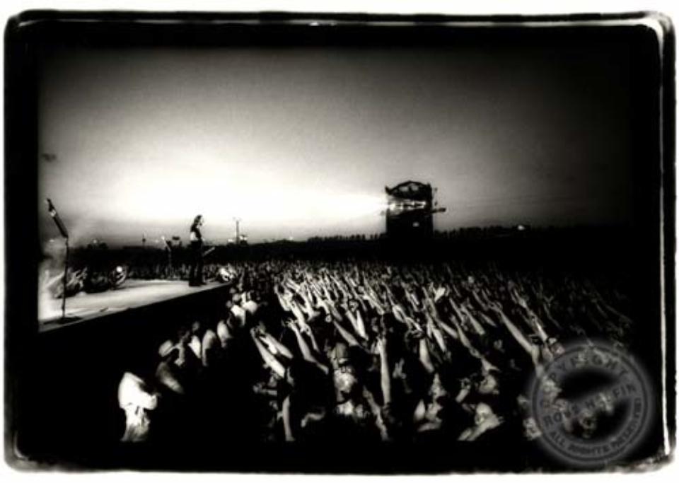 Ross Halfin: Metallica Rock Werchter, Belgium, 1993