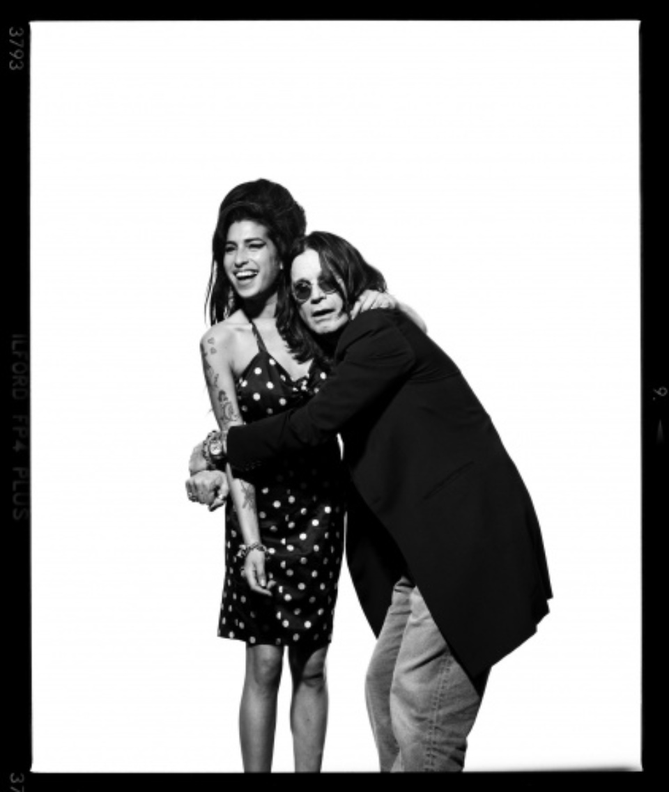 Ross Halfin: Amy Winehouse and Ozzy Osbourne London, 2007