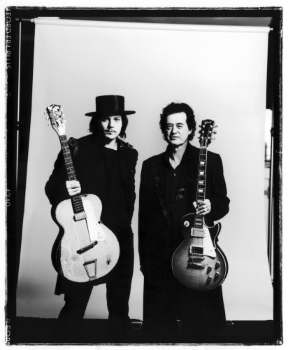 Ross Halfin: Jack White and Jimmy Page