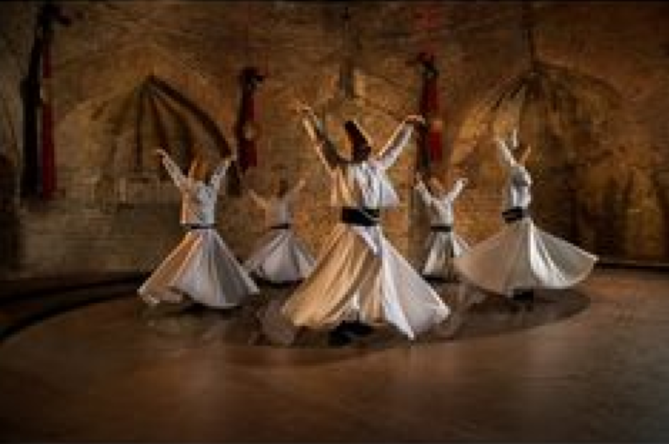 Steve McCurry: Whirling Dervishes Turkey