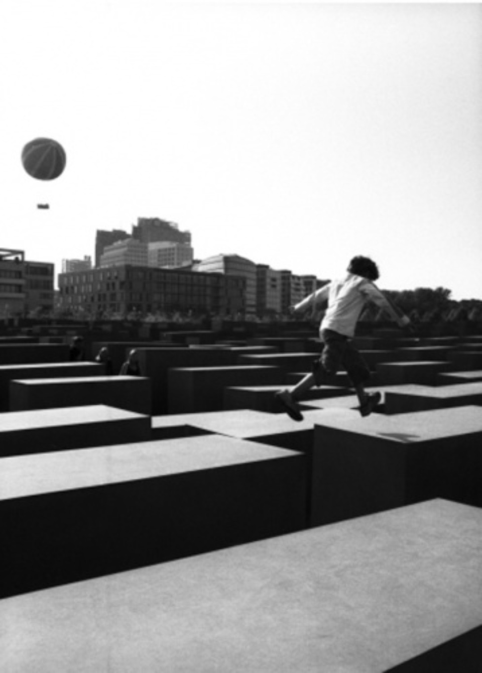 Stanko Abadzic: Jumping Boy 2006 Gelatin Silver Print Signed, titled, dated and numbered on verso 29,7x 39,2 cm Ed. 4/25