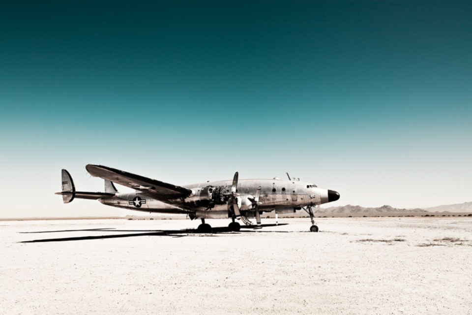 Werner Bartsch: Air Force One Signed, titled, dated and numbered on verso Archival pigment print, printed 2010 100 x 140 cm Ed. 7