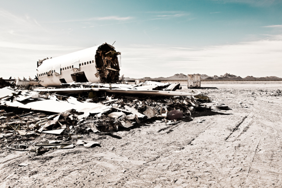 Werner Bartsch: Boneyard #2 Signed, titled, dated and numbered on verso Archival pigment print, printed 2010 100 x 140 cm Ed. 15
