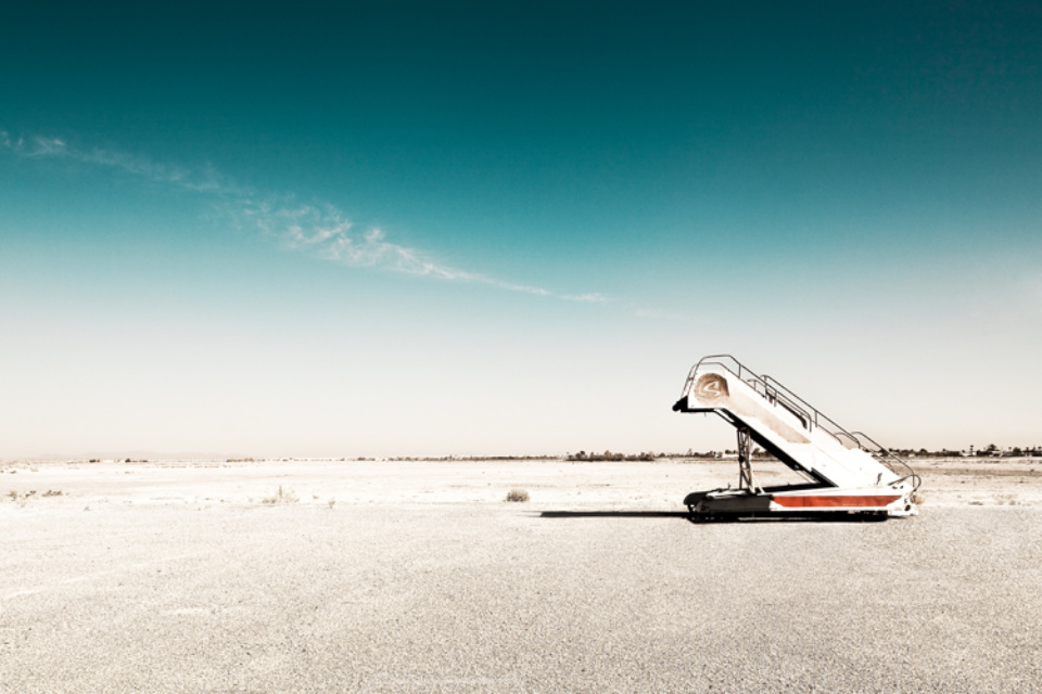 Werner Bartsch: Gangway Signed, titled, dated and numbered on verso Archival pigment print, printed 2010 100 x 140 cm Ed. 7
