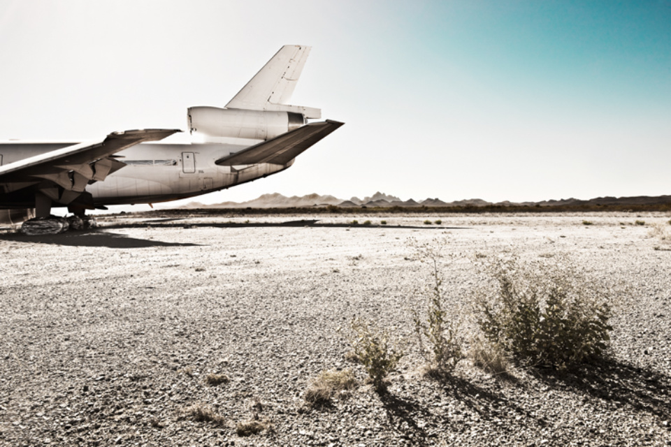 Werner Bartsch: DC10 #2 Signed, titled, dated and numbered on verso Archival pigment print, printed 2010 100 x 140 cm Ed. 15