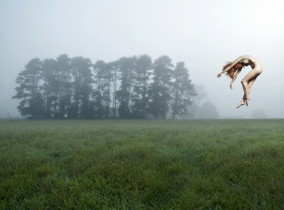 Toby Burrows: Fallen Mist 2009 C-type photographic print 84 x 110 cm Artist proof