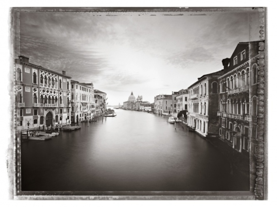 Christopher Thomas: Canal Grande I 2010 venice in solitude
