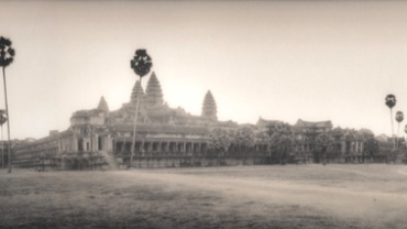 Silke Lauffs: Angkor Wat Selenium Toned Gelatin Silver Print Signed, titled, dated and numbered on verso Different formats available