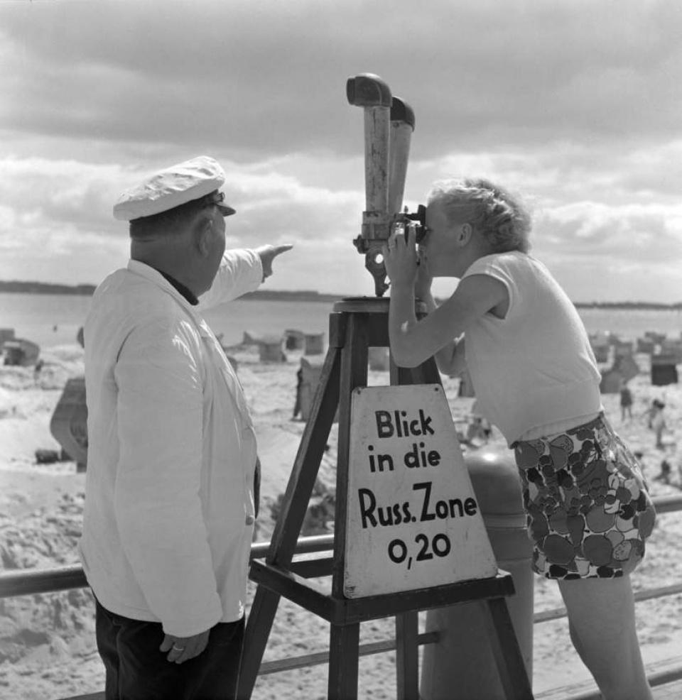 Max Scheler. Vista of the Russian Zone , Travemünde, 1952