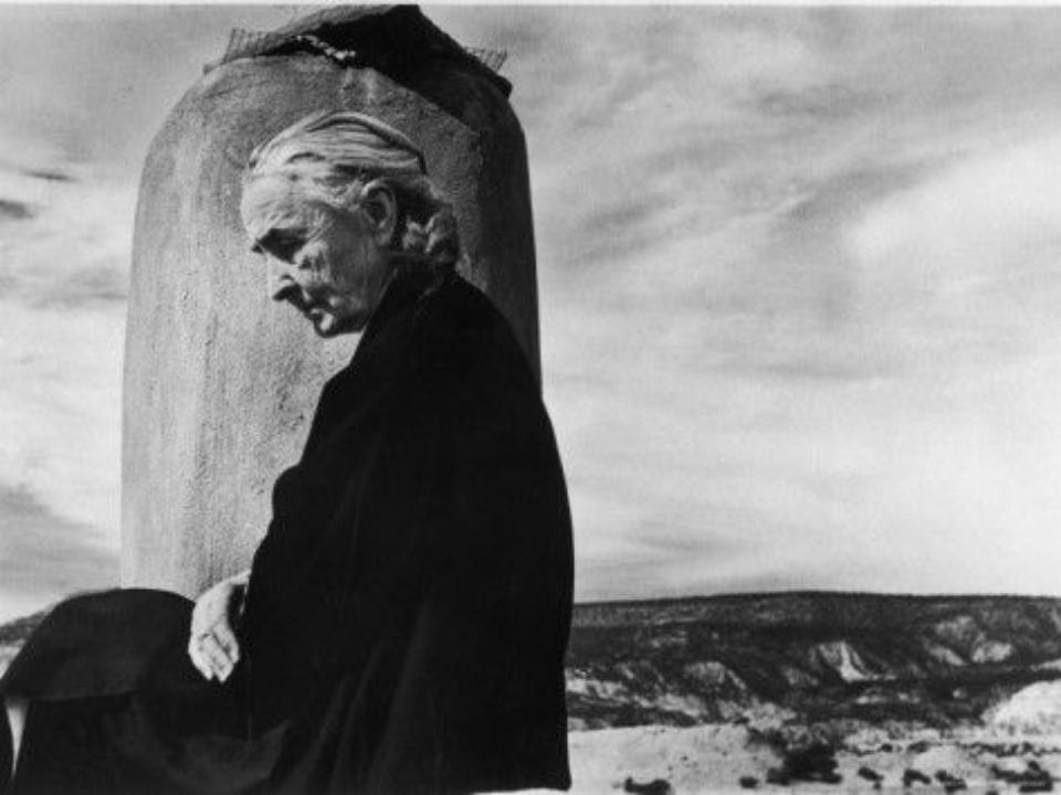 John Loengard Ghost Ranch 1967 Gelatin Silver Print