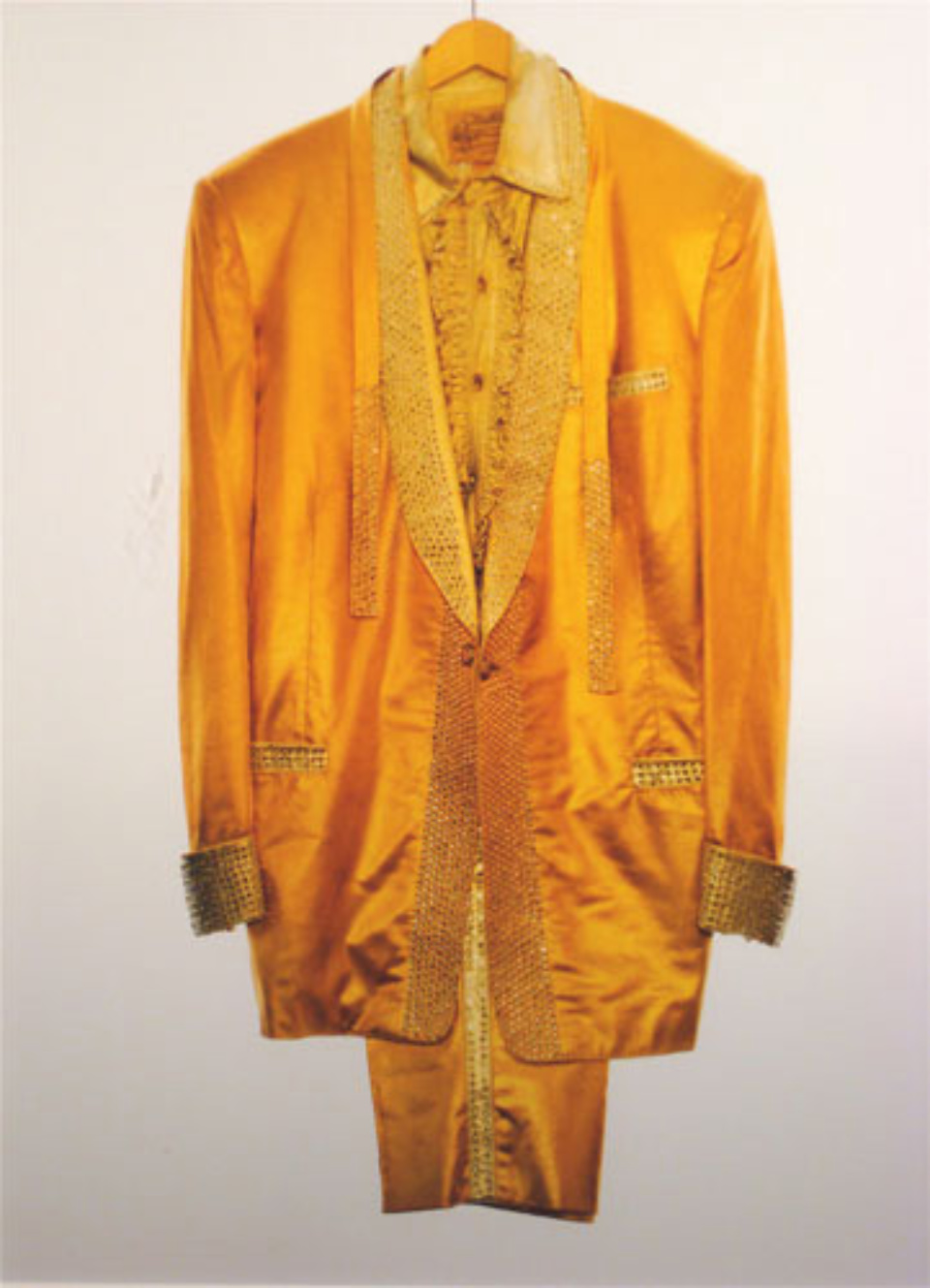 Albert Watson: Elvis Presley's Gold Lamé Suit Graceland, Memphis 1991 C-print Signed, titled, dated and numbered on verso Ed. 25
