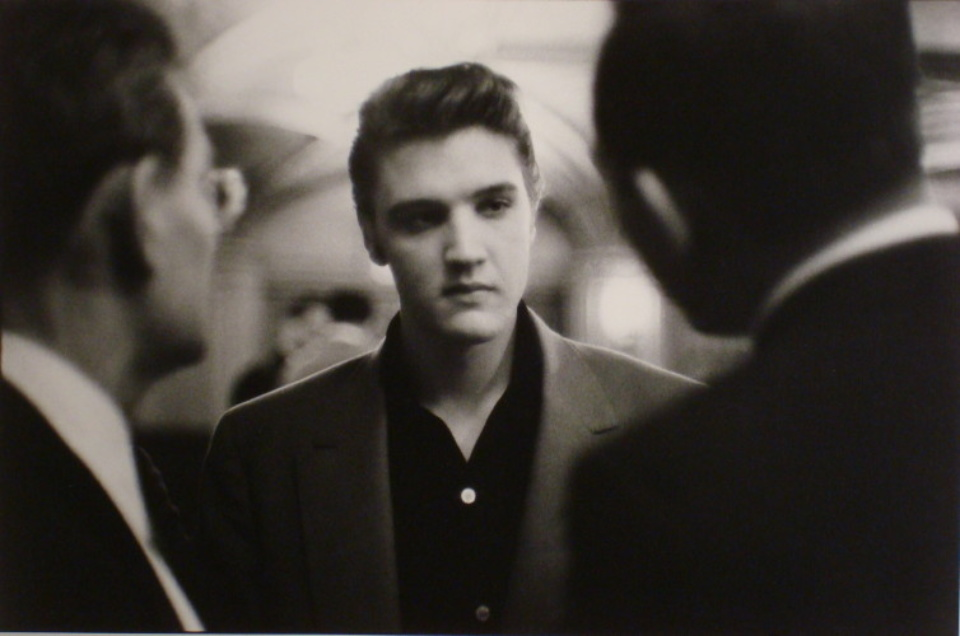 Alfred Wertheimer Elvis gets advice New York City, 1956 Gelatin Silver Print, printed later Signed, titled and dated
