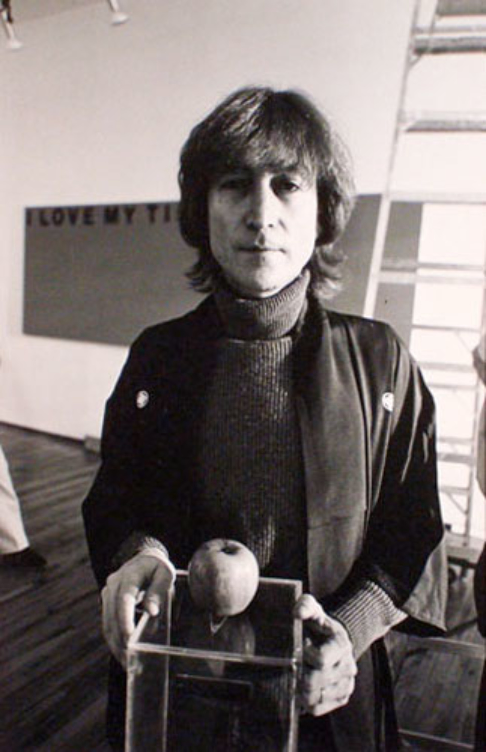 Allan Tannenbaum: John Lennon 1980 Gelatin silver print, printed later Signed on verso