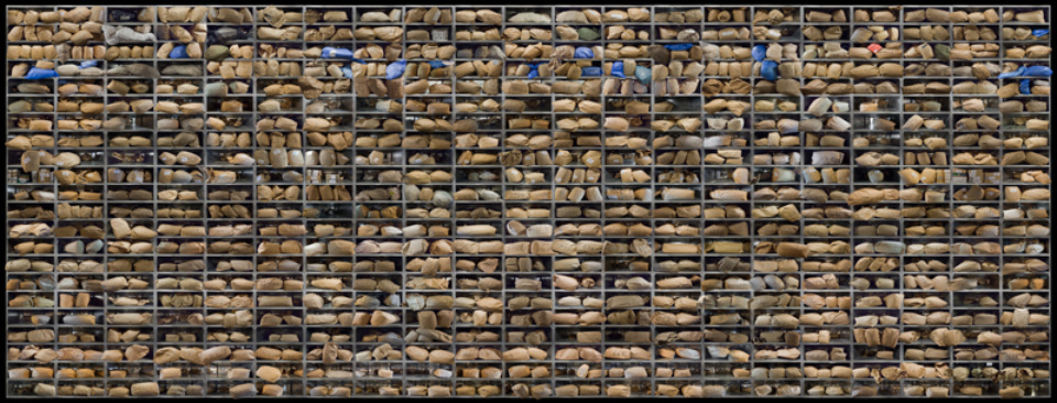 Andreas Rehmann Die Akte, 2011: Archival pigment print on Hahnemühle Signed, titled, dated and numbered 92 x 243 cm Ed. 5