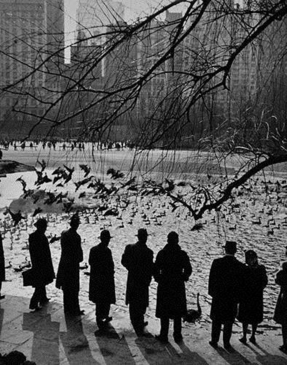 Andreas Feininger An American Sunday New York, 1943 Gelatin Silver Print