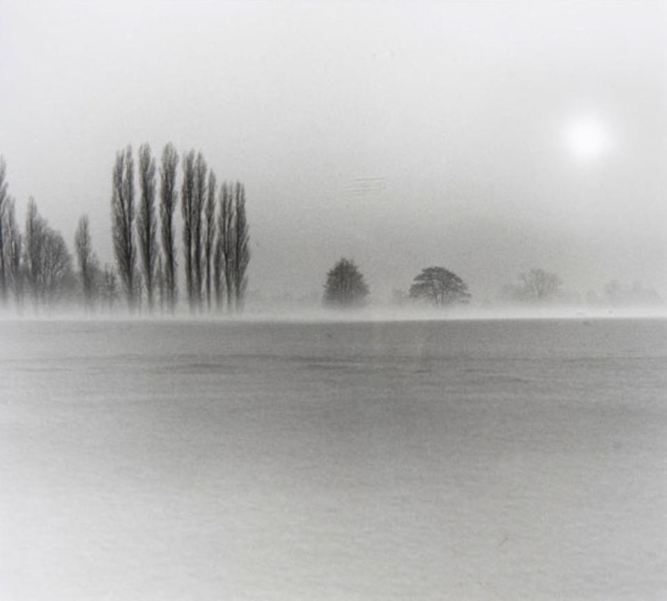 Annelise Beier Marschlande im Nebel 1978 Gelatin Silver Print