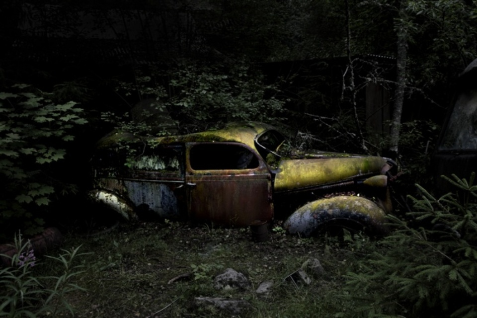 Antje Bakker: Offroad #1 Archival pigment print Signed, titled and numbered 50 x 83 cm