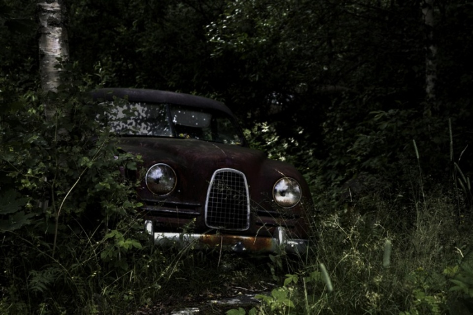 Antje Bakker: Offroad #2 Archival pigment print Signed, titled and numbered 50 x 83 cm Ed. 7