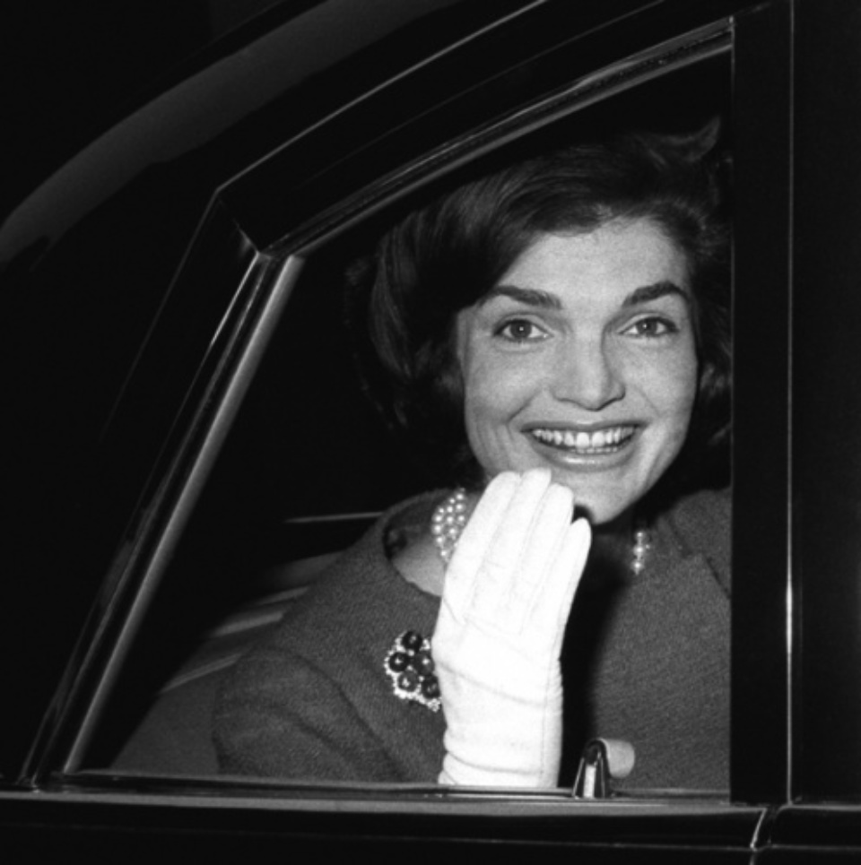 Harry Benson Jackie Kennedy London, 1962 Gelatin silver print, printed later Signed, titled and dated 40 x 50 cm