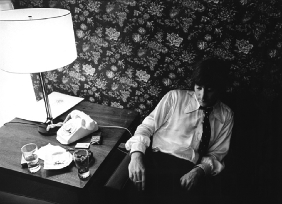 Harry Benson John Lennon Chicago, 1966 Gelatin silver print, printed later Signed, titled and dated 40 x 50 cm