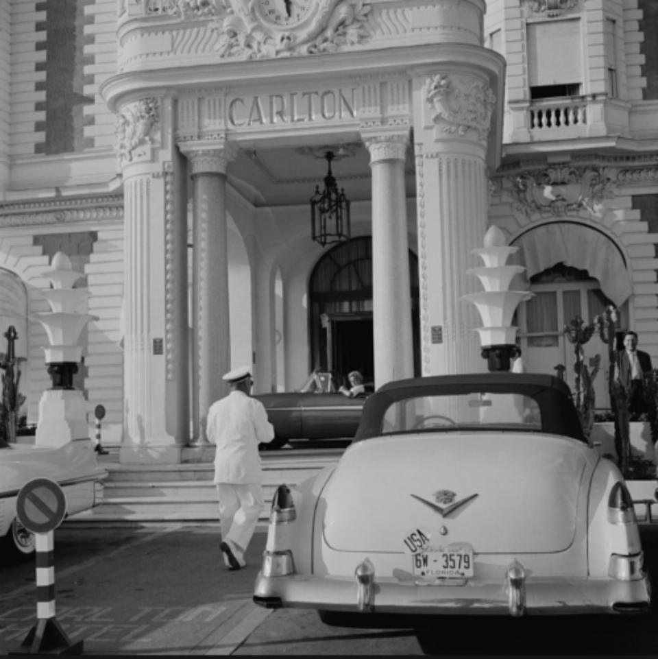 Slim Aarons Carlton Hotel Cannes, France, 1955