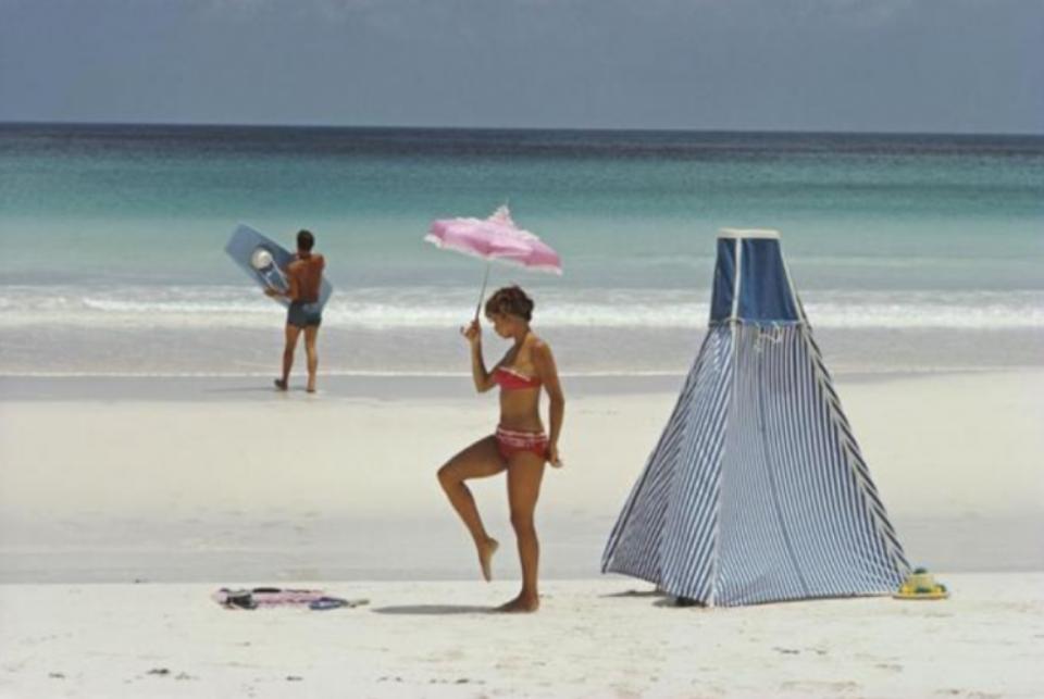 Slim Aarons: Harbor Island Bahamas, 1967