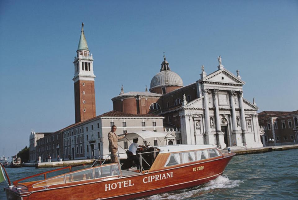 Slim Aarons: Natal Rusconi Venedig, 1978