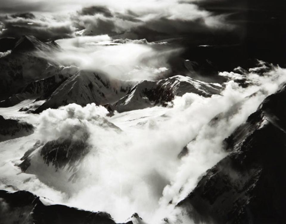 Bradford Washburn After the Storm Switzerland, 1960 Gelatin Silver Print