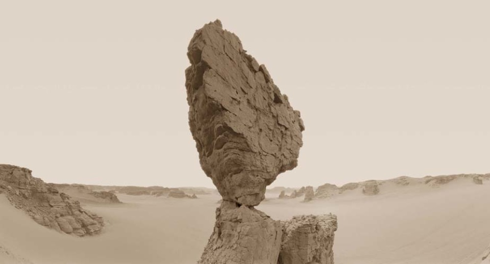 David Parker: New Desert Myth VII Signed, titled, dated and numbered on verso Giclée print