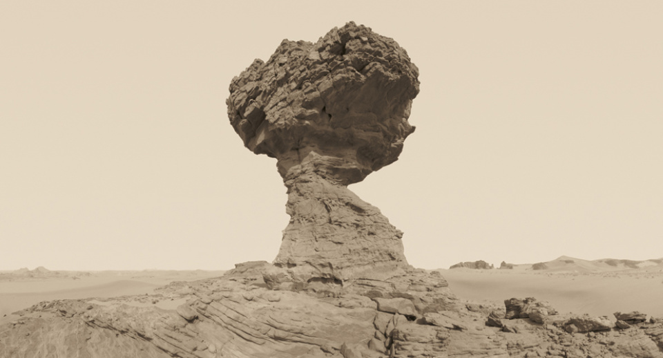 David Parker: New Desert Myth XXIV 2010 Signed, titled, dated and numbered on verso Giclée print Ed. 1/10