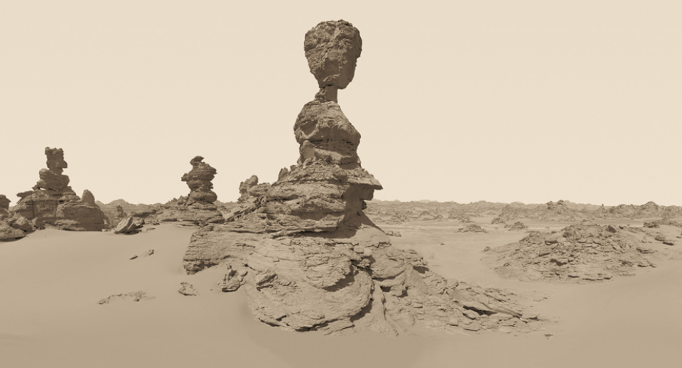 David Parker: New Desert Myth XXIX Signed, titled, dated and numbered on verso Giclée print