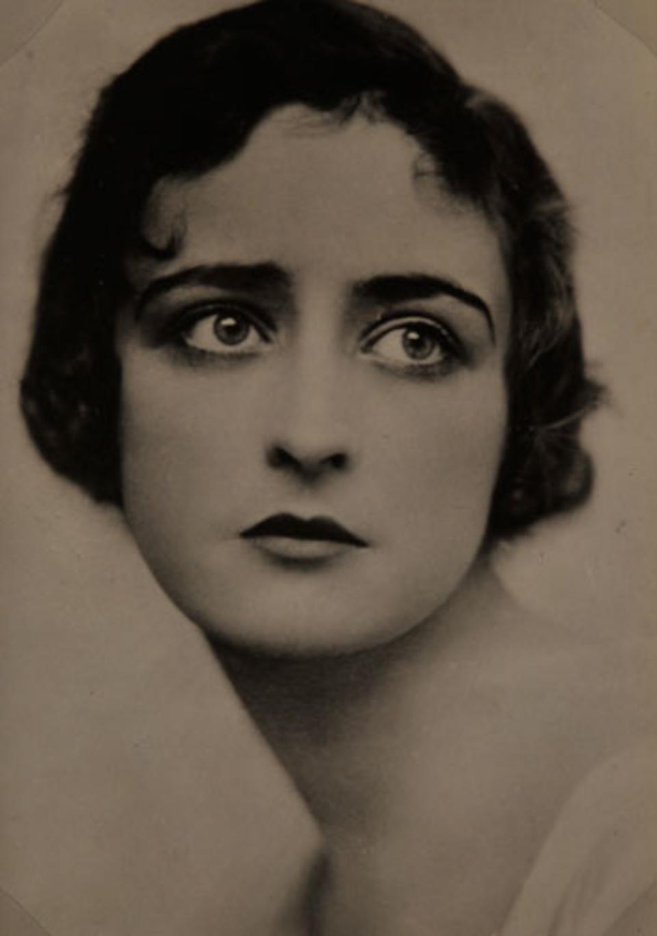 E.O. Hoppé Miss Hebe, 1917 Vintage gelatin silver print