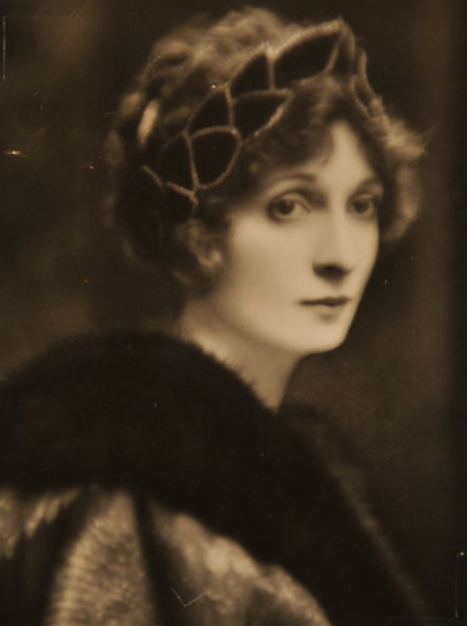 E.O. Hoppé Lady Hazel Lavery, 1916 Vintage gelatin silver print